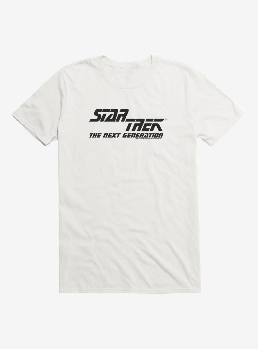 Star Trek The Next Generation Split Logo T-Shirt