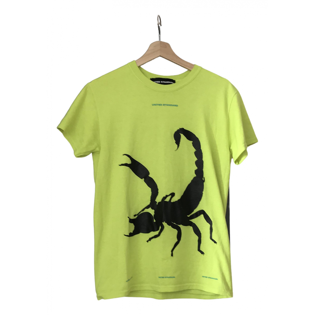 United Standard N Yellow Cotton T-shirts for Men S International