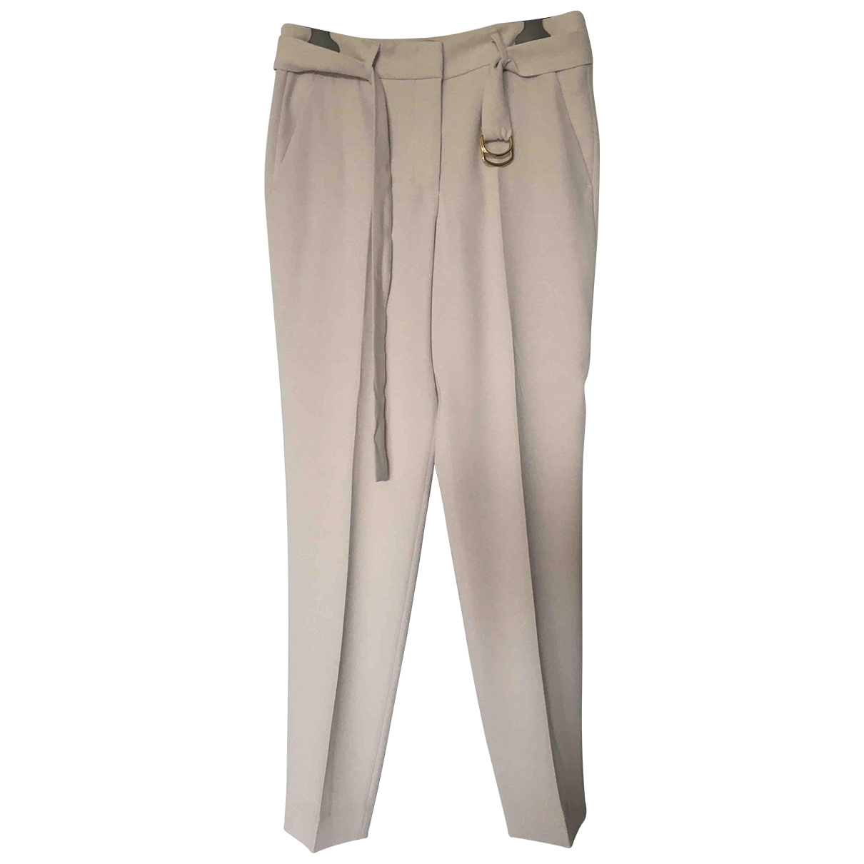 Peserico \N Grey Trousers for Women 40 IT