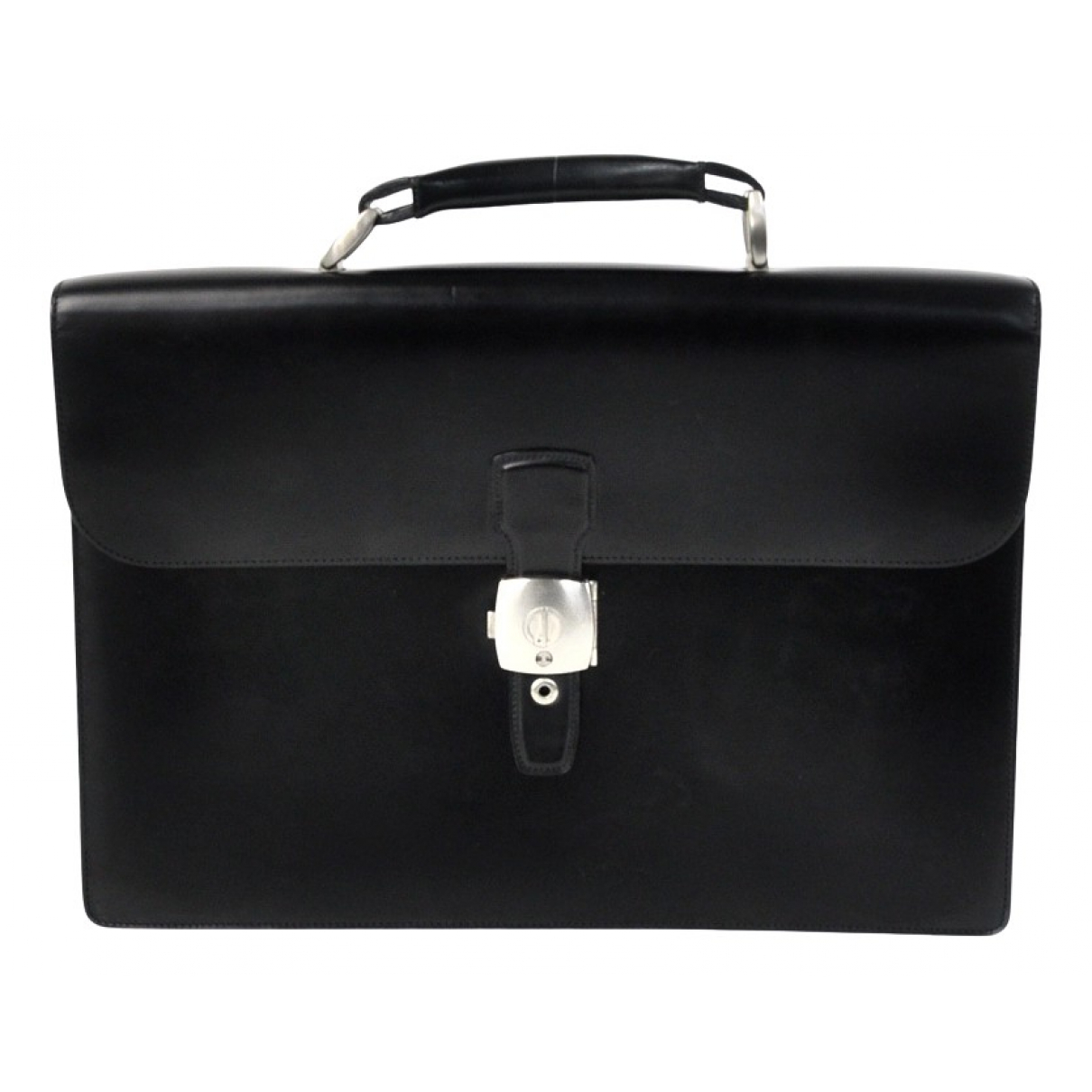 Alfred Dunhill \N Black Leather bag for Men \N