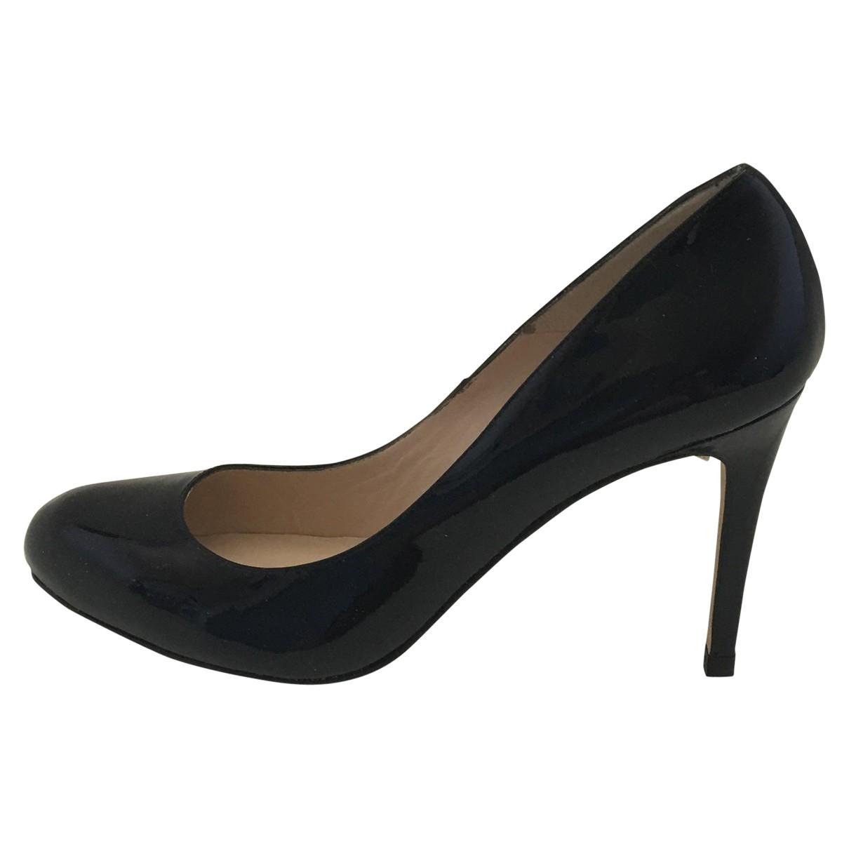 Lk Bennett \N Black Patent leather Heels for Women 41 EU