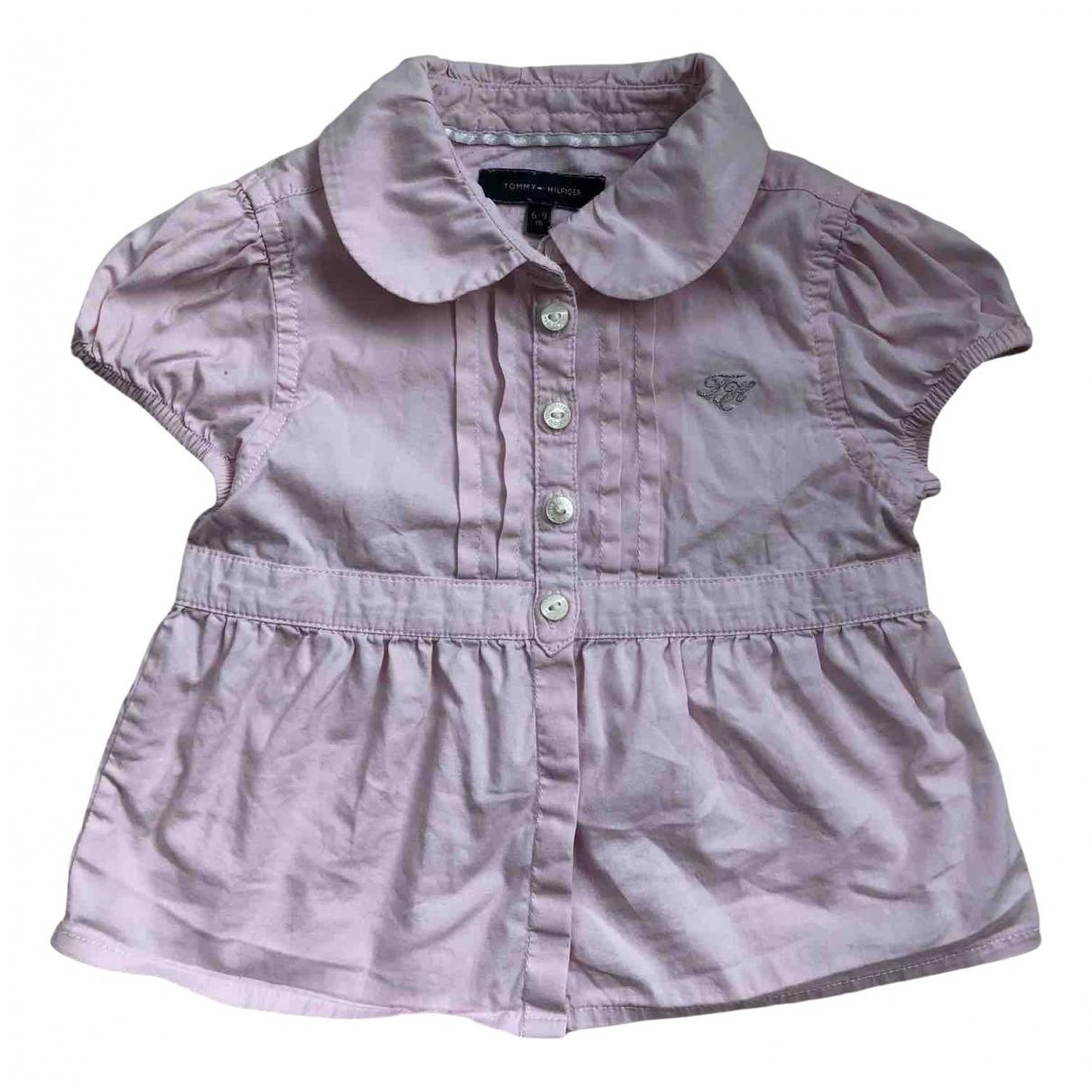 Tommy Hilfiger N Pink Cotton  top for Kids 9 months - up to 71cm FR