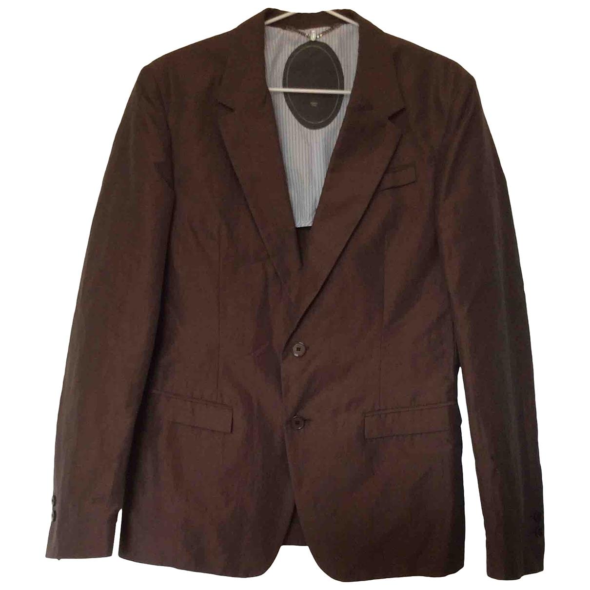 Dondup - Vestes.Blousons   pour homme en coton - marron