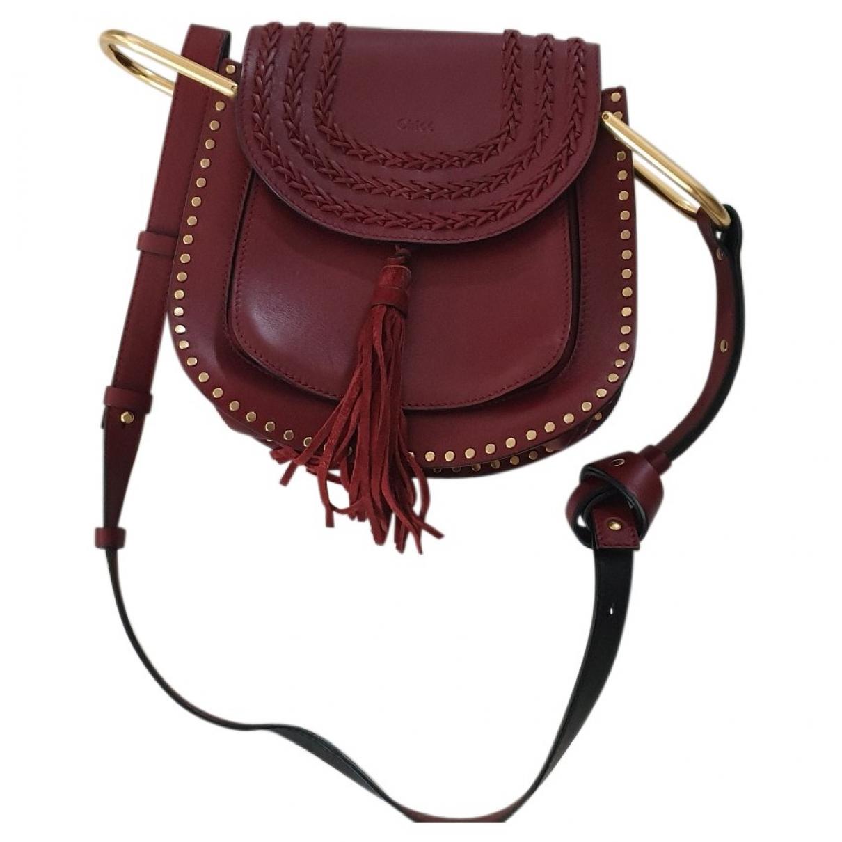 Chloé Hudson Red Leather handbag for Women \N