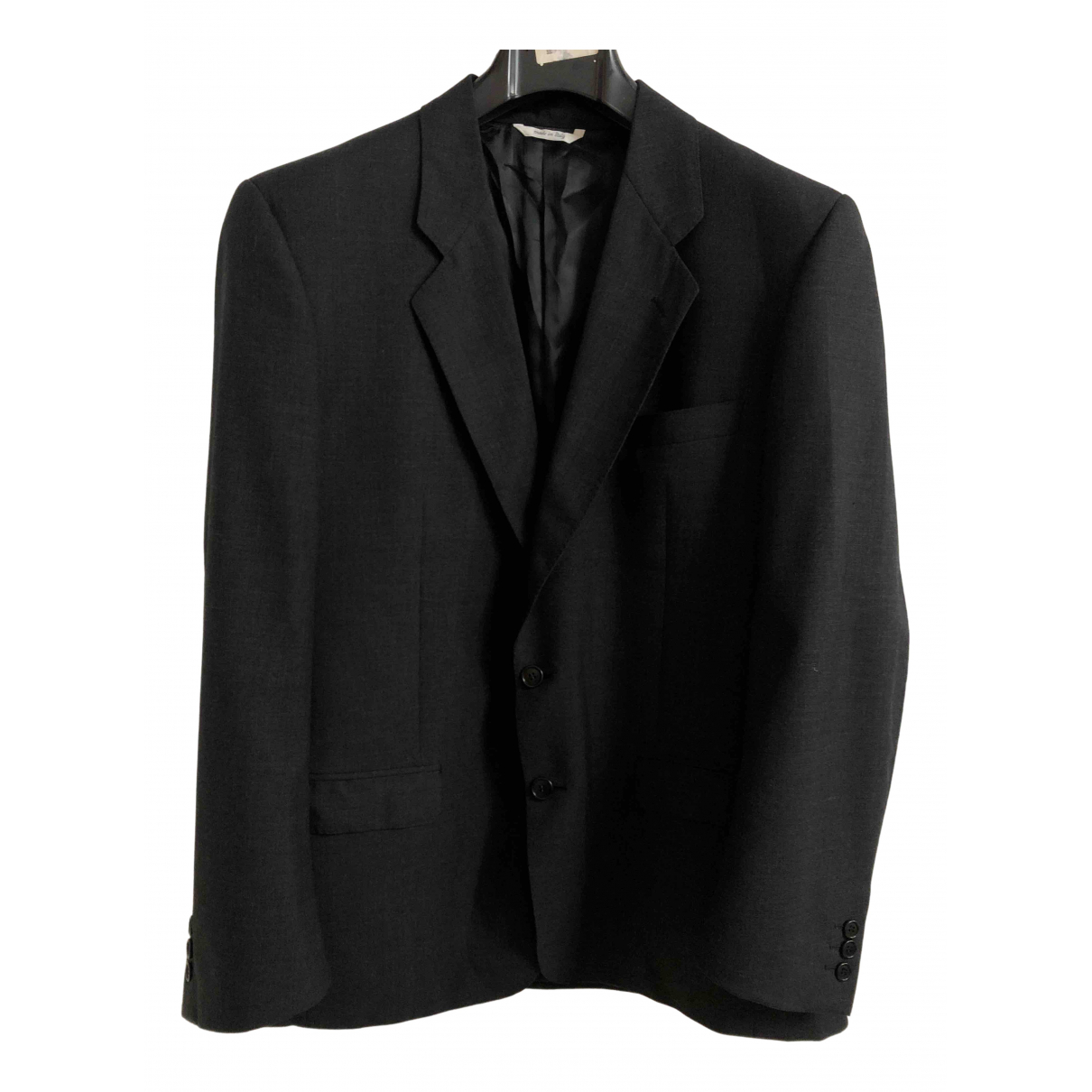 - Vestes.Blousons   pour homme en laine - noir