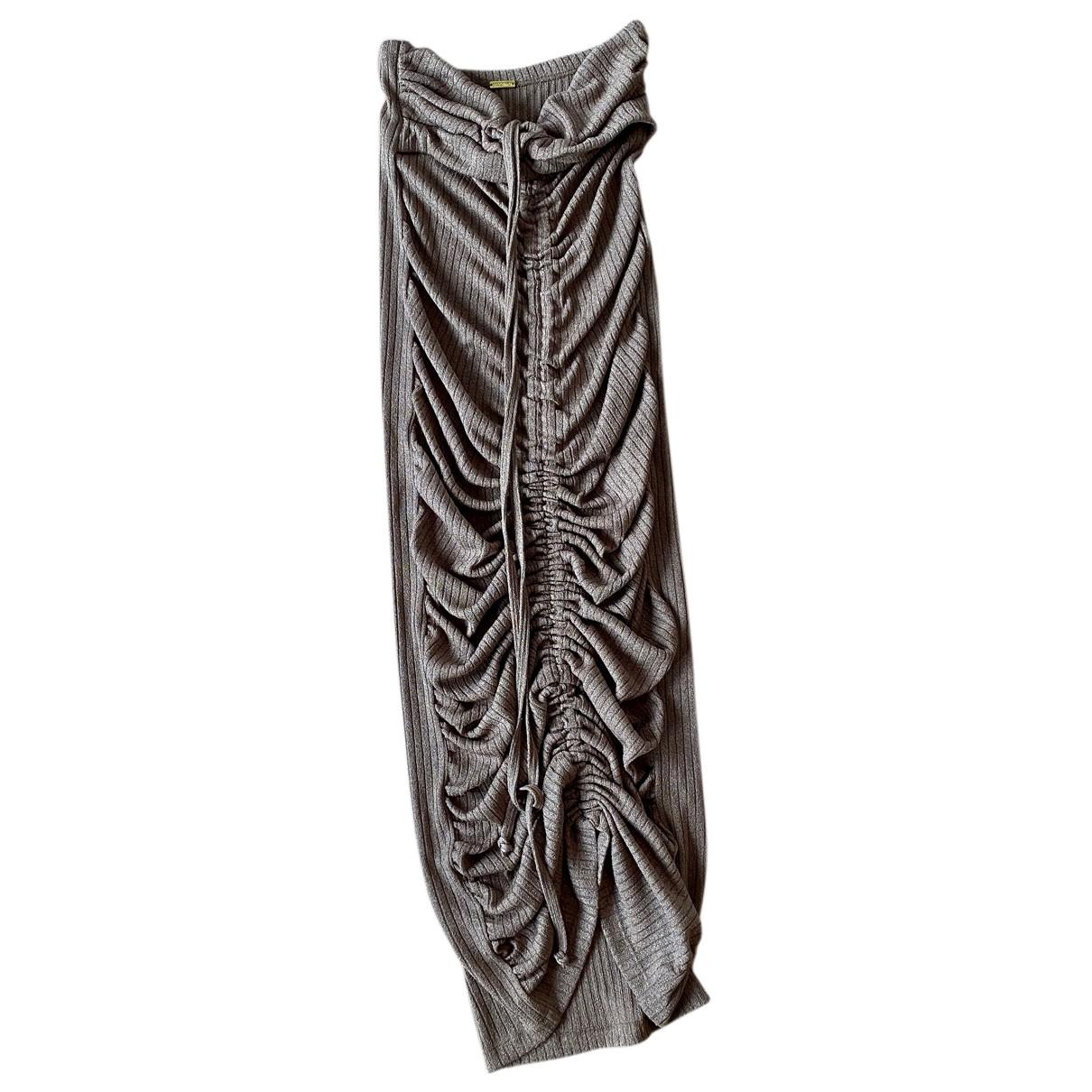 Dodo Bar Or \N Kleid in  Beige Polyester