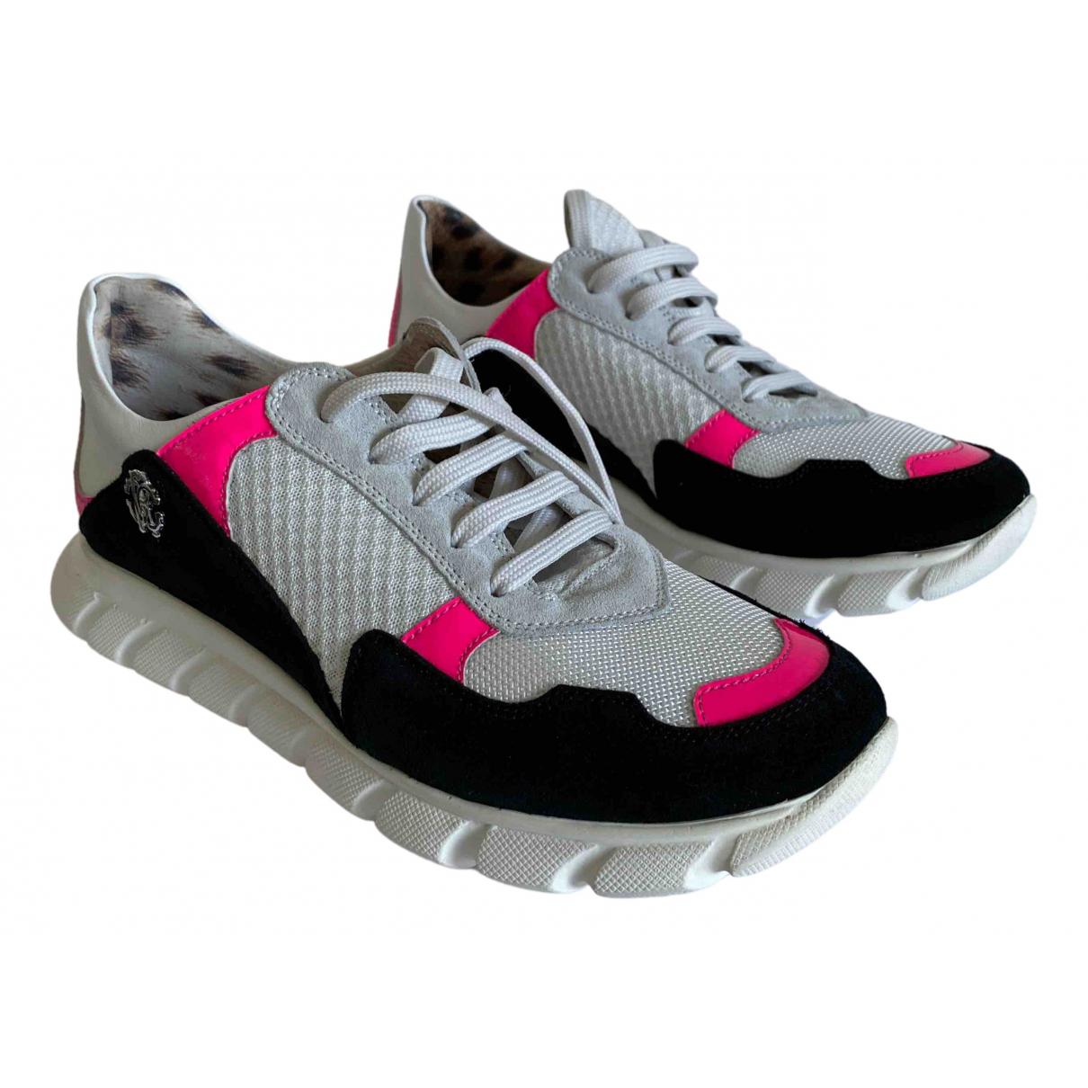 Roberto Cavalli \N Sneakers in  Bunt Leinen