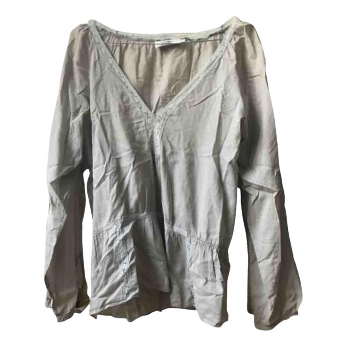 Comptoir Des Cotonniers - Top   pour femme en coton - vert