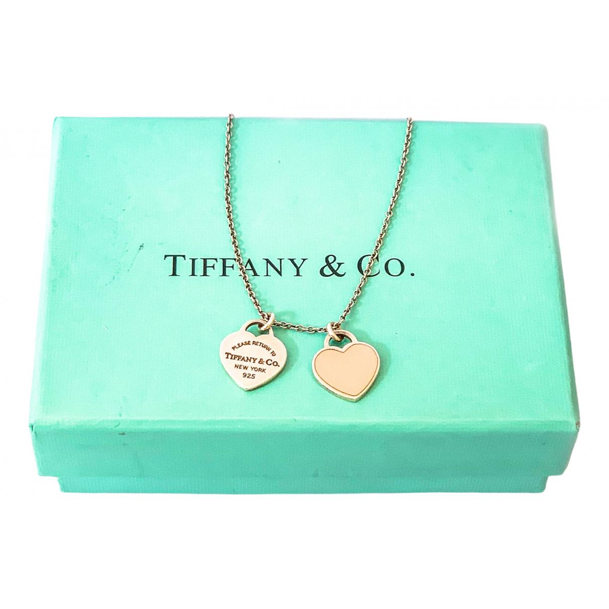 Tiffany & Co - Collier Return to Tiffany pour femme en argent - argente