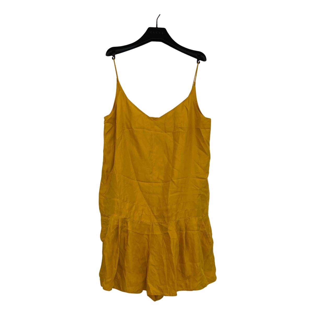 Rag & Bone N Yellow Silk jumpsuit for Women 2 0-5