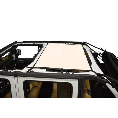 DirtyDog 4x4 Rear Sun Screen (Sand) - JL4S18R1SD