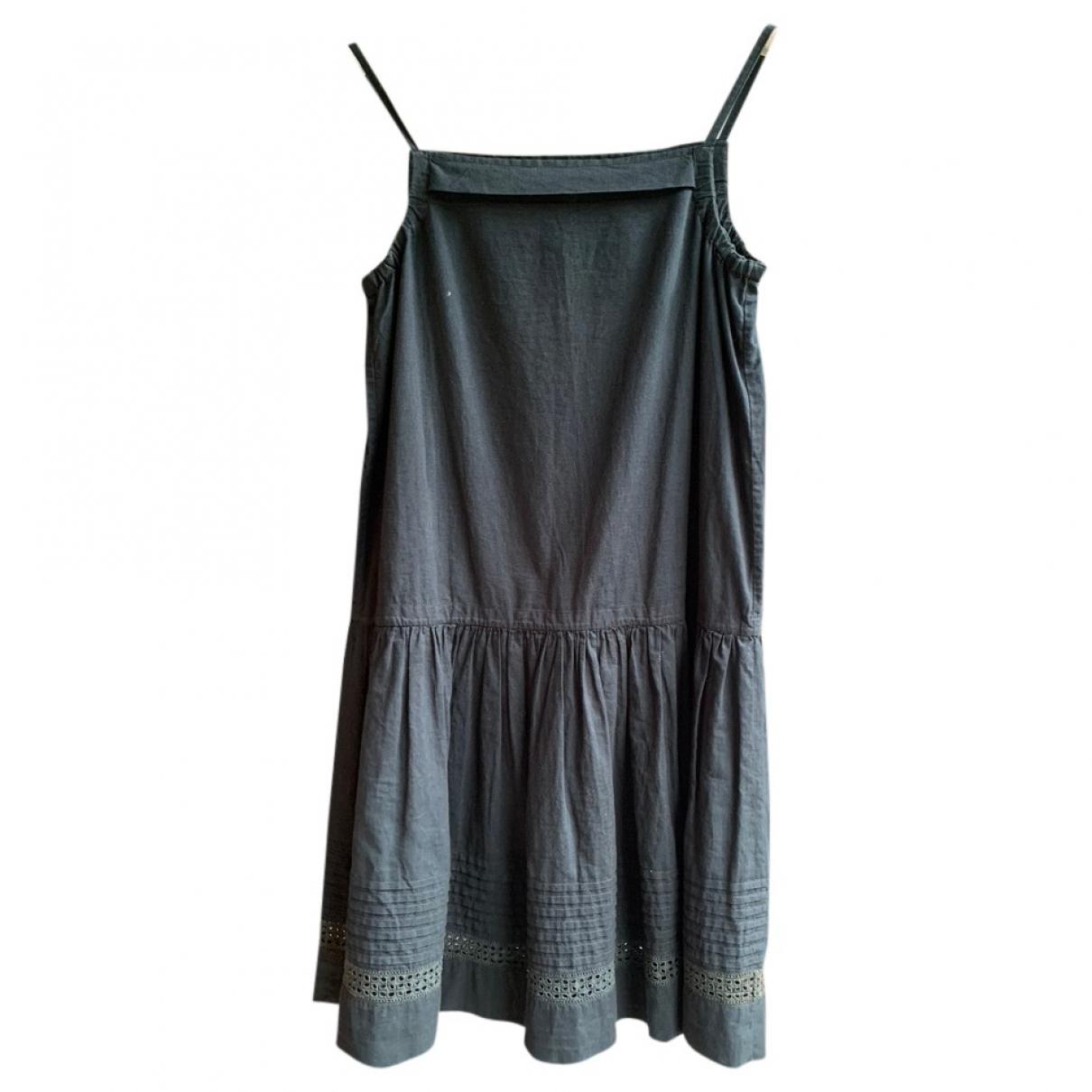 Bonpoint \N Kleid in  Blau Baumwolle