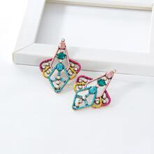 Hollow Out Geometric Stud Earrings