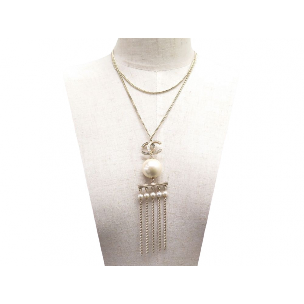 Chanel CHANEL Gold Metal necklace for Women \N