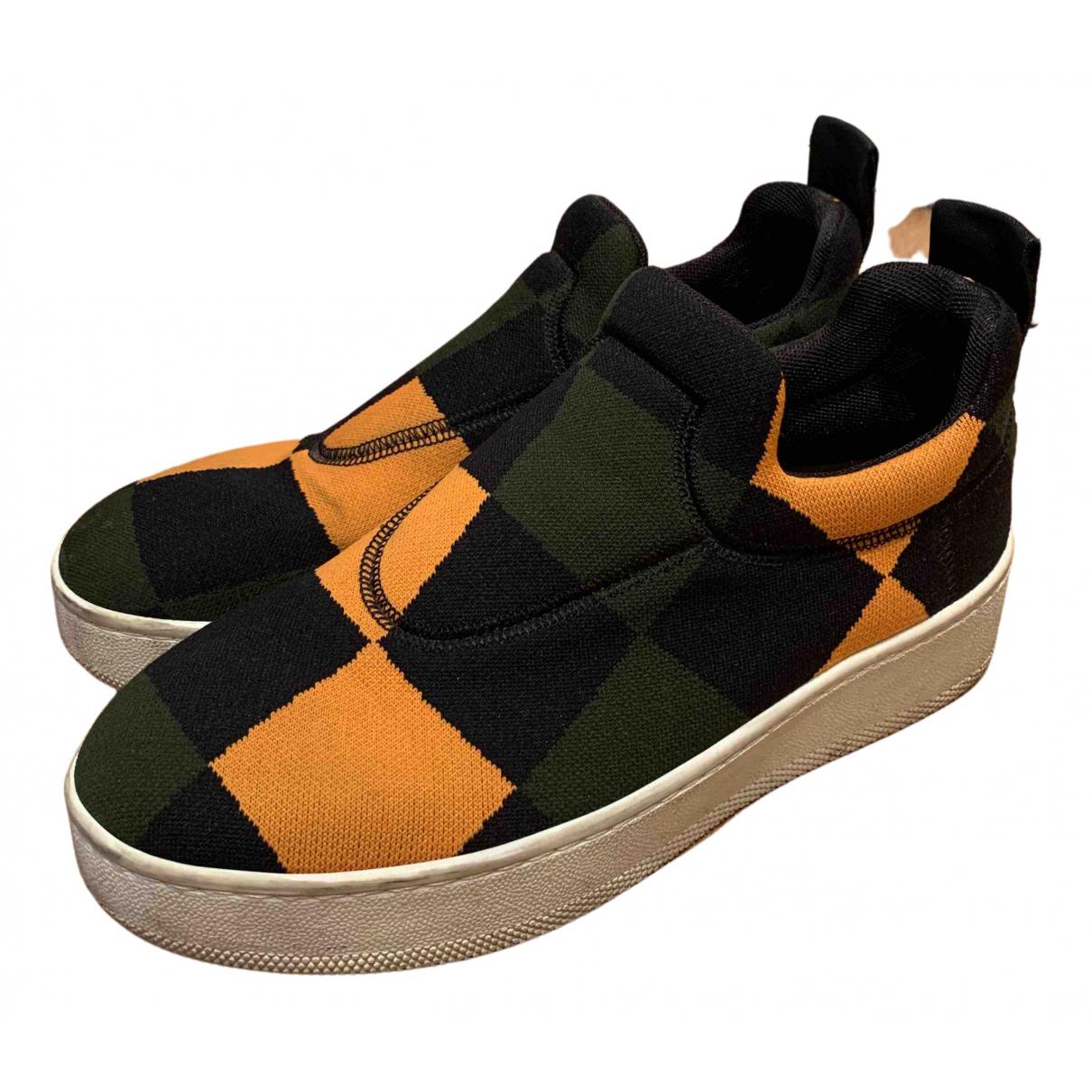 Celine \N Sneakers in  Bunt Leinen