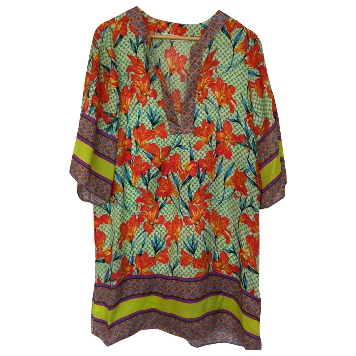 Zara - Robe   pour femme en soie