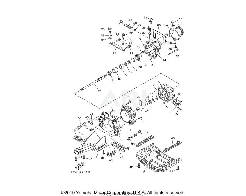 Yamaha OEM F2C-U7557-01-00 BRACKET