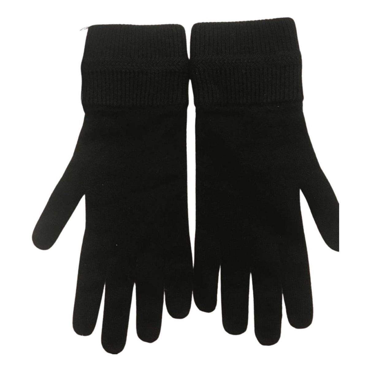Ballantyne - Gants   pour femme en cachemire - noir