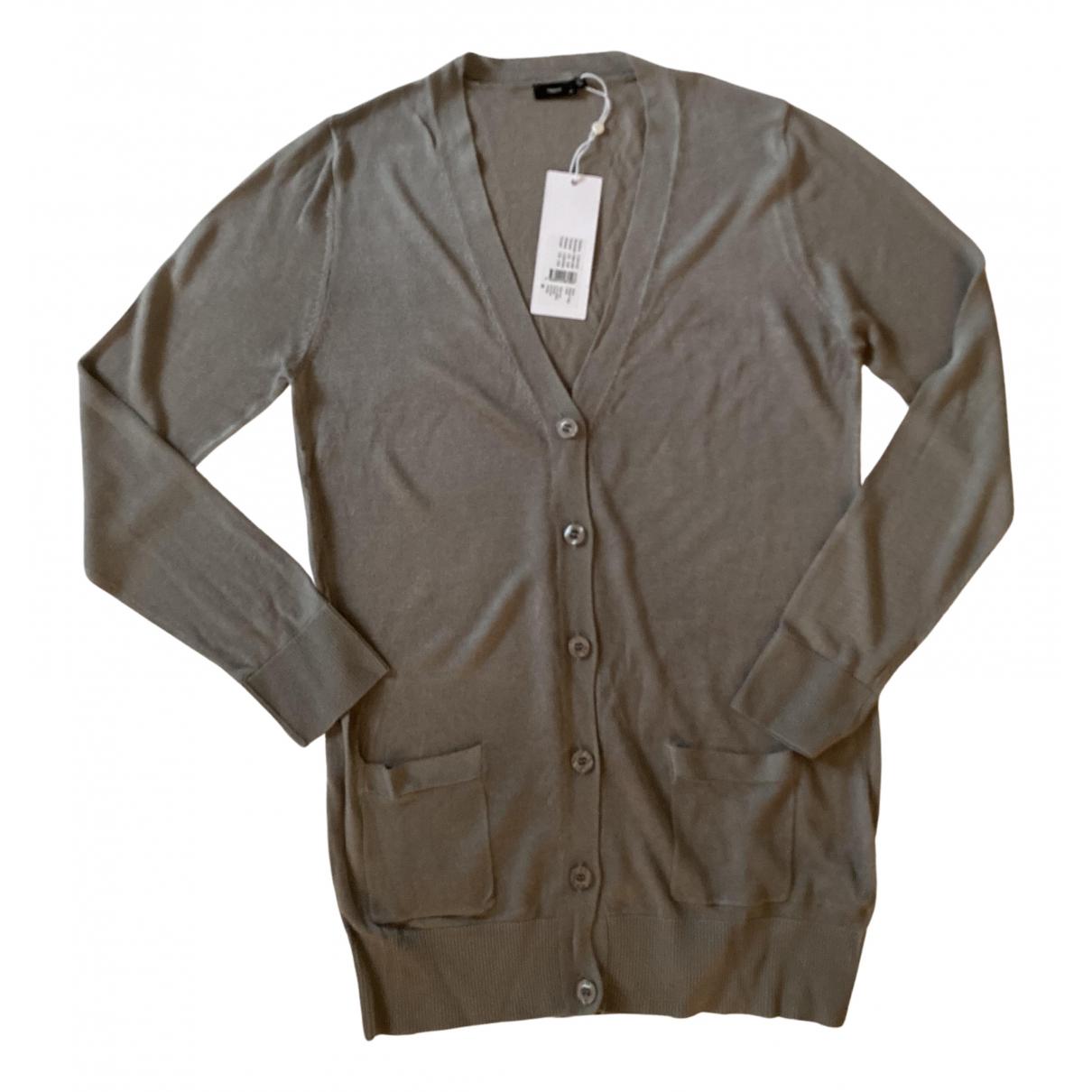 Filippa K \N Pullover in  Grau Viskose
