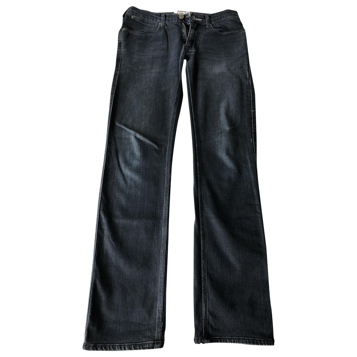 Acne Studios \N Navy Cotton Jeans for Men 29 US