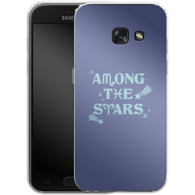 Samsung Galaxy A3 (2017) Silikon Handyhuelle - Among The Stars von caseable Designs