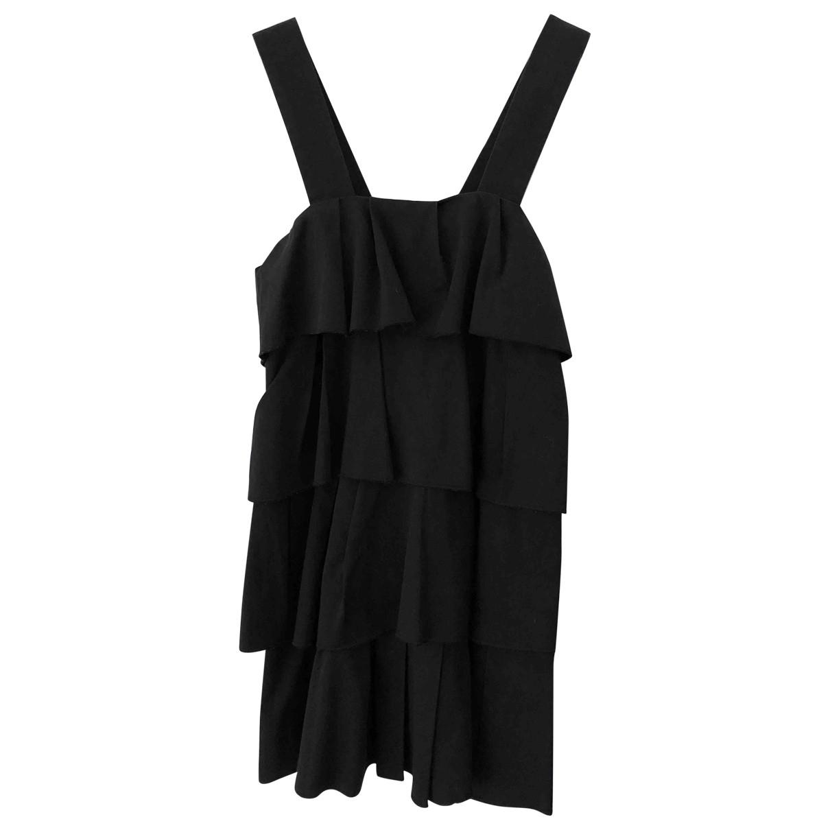 Sonia By Sonia Rykiel \N Kleid in  Schwarz Baumwolle