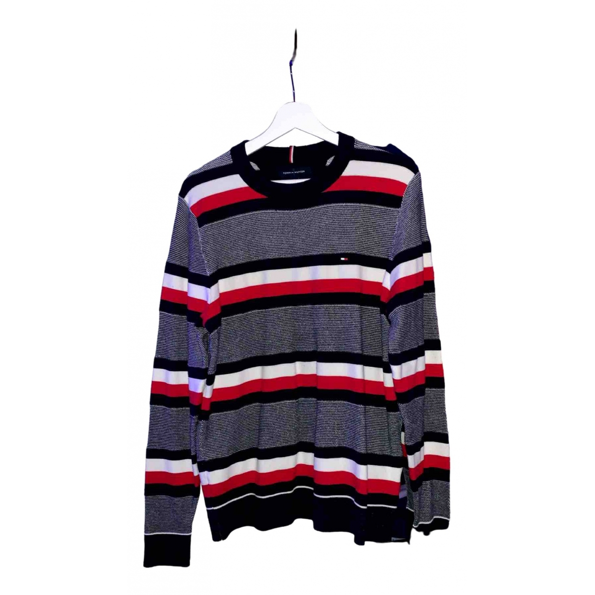 Tommy Hilfiger \N Red Cotton Knitwear & Sweatshirts for Men M International