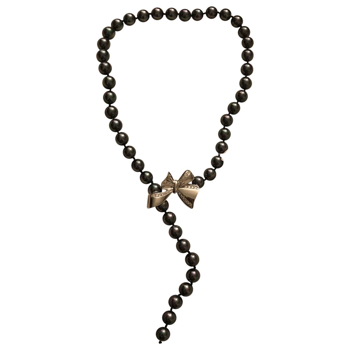 - Collier Nacre pour femme en perles - argente