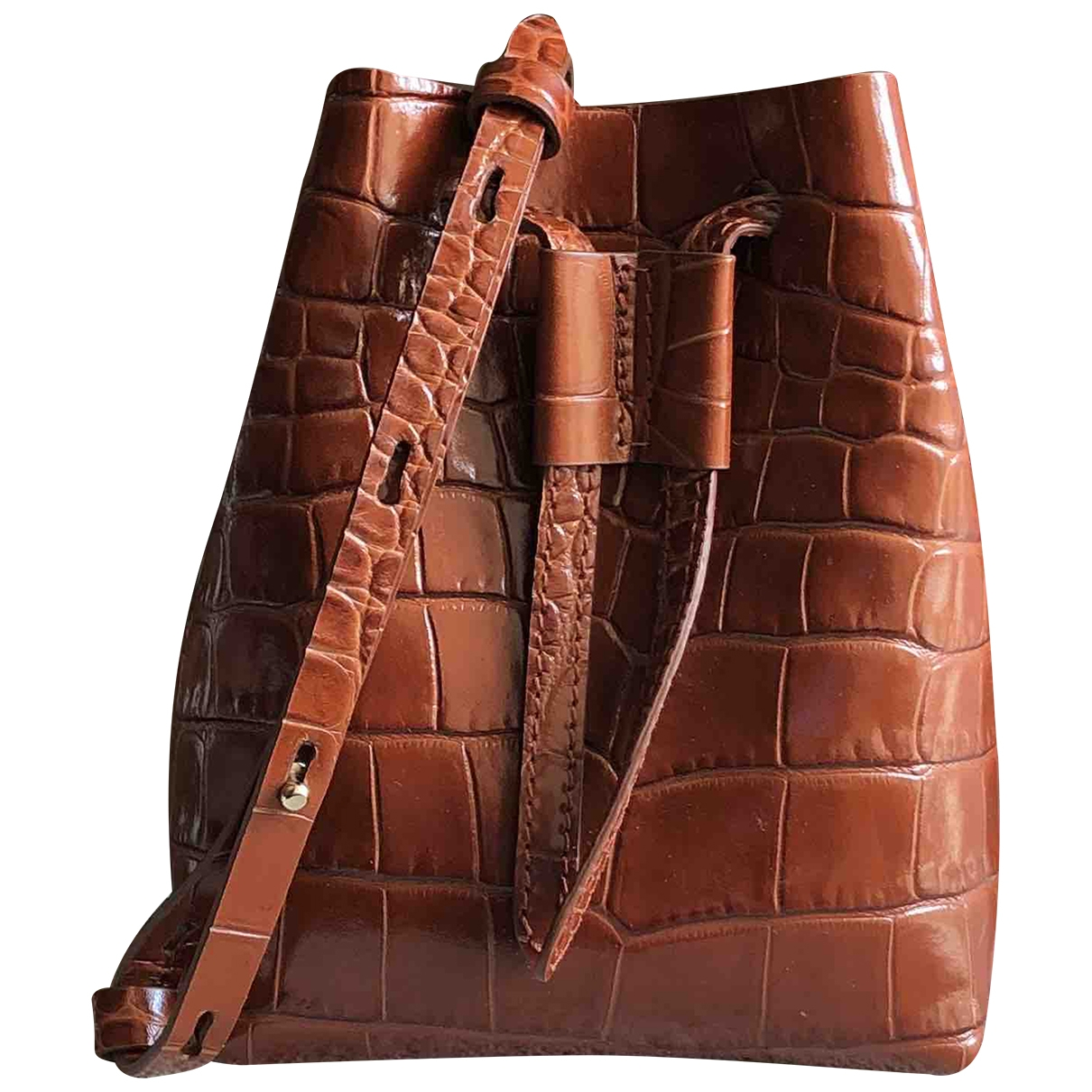 Nanushka \N Brown Leather handbag for Women \N