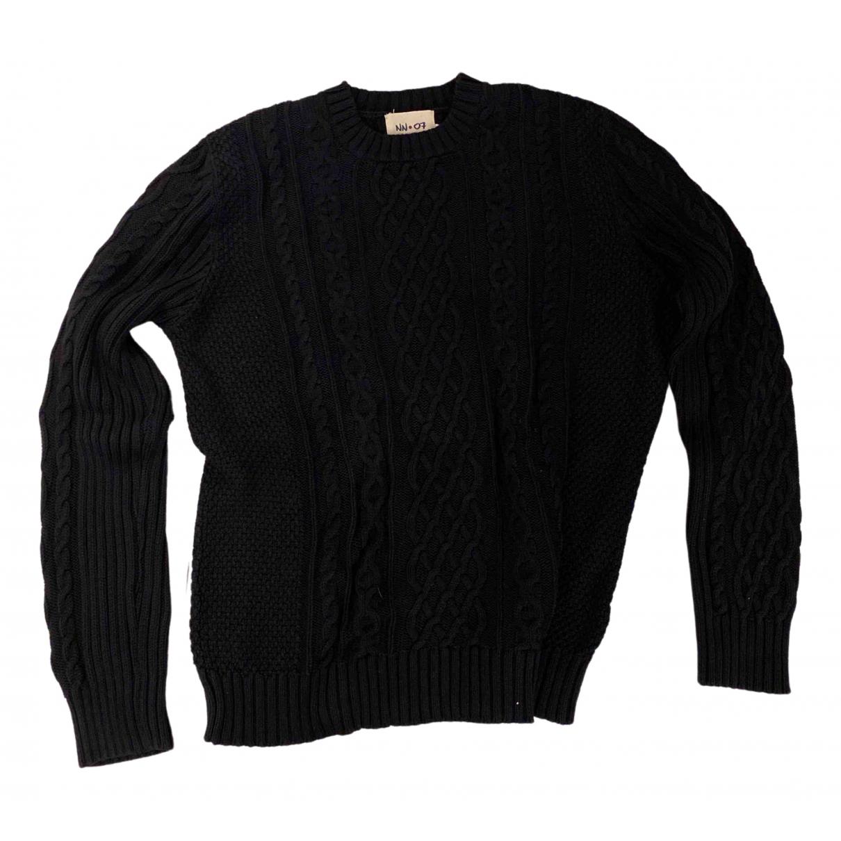 Nn07 No Nationality \N Pullover.Westen.Sweatshirts  in  Blau Baumwolle