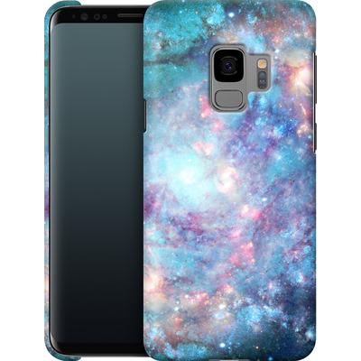 Samsung Galaxy S9 Smartphone Huelle - Abstract Galaxy - Blue von Barruf