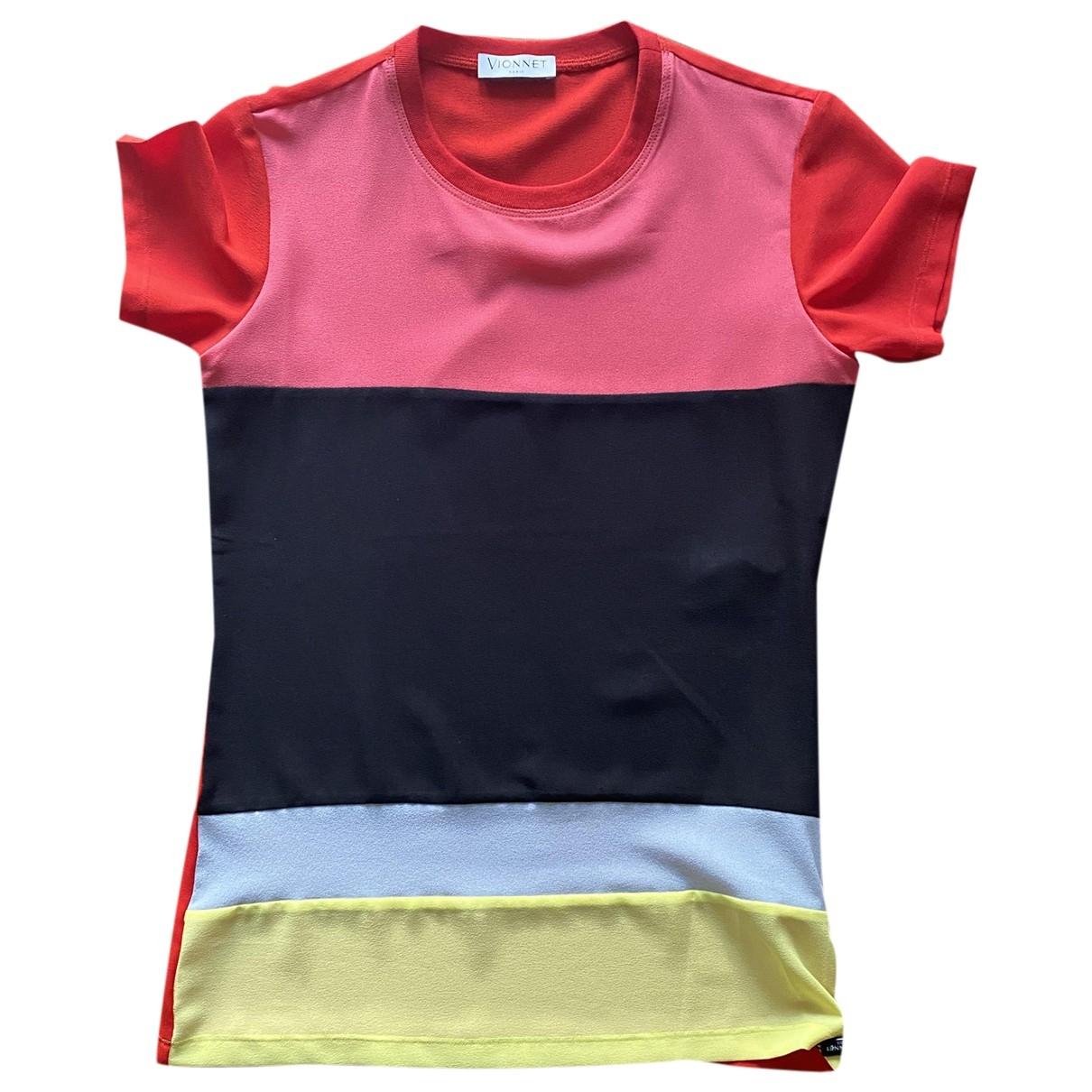 Vionnet - Top   pour femme en soie - multicolore