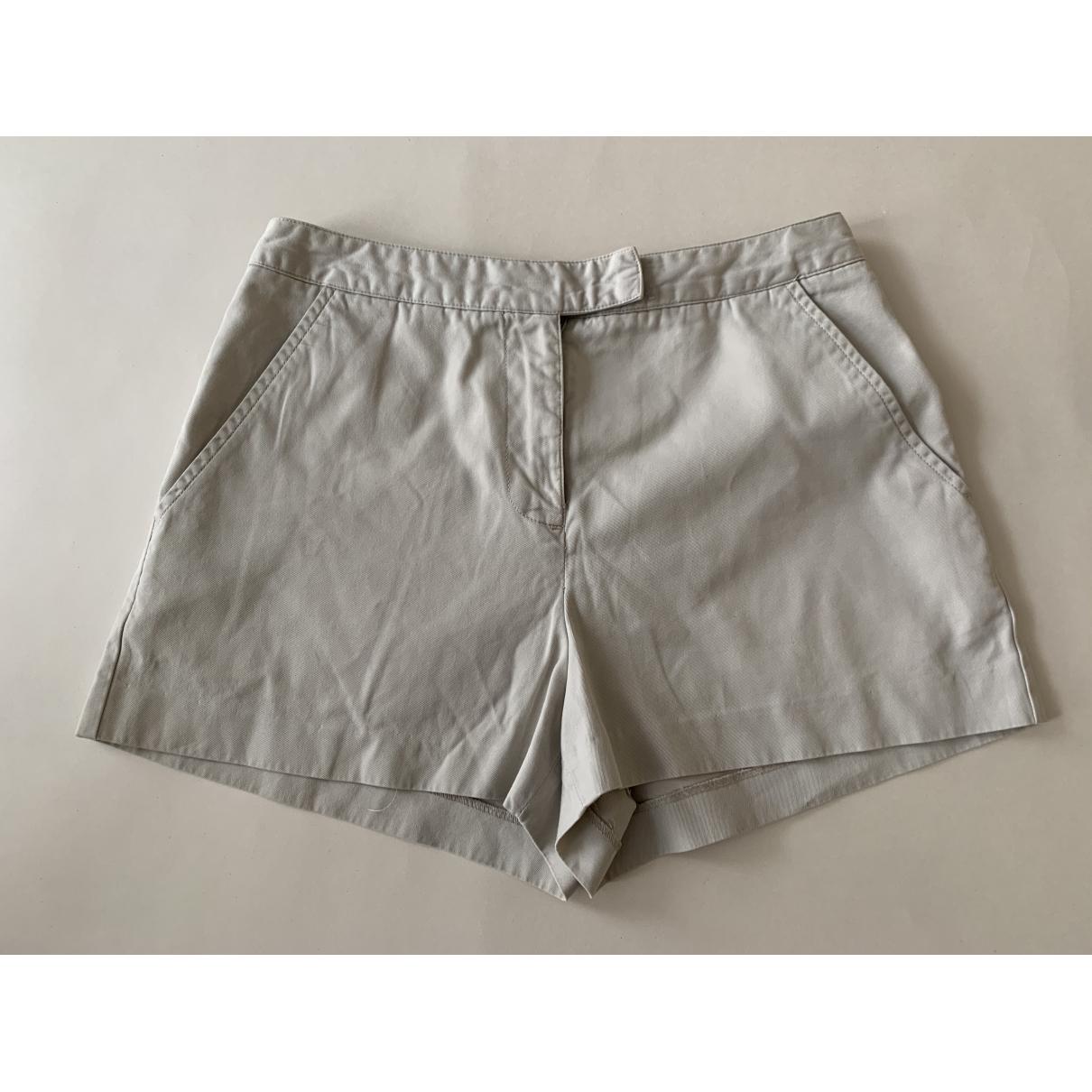 Emporio Armani \N Shorts in  Beige Baumwolle