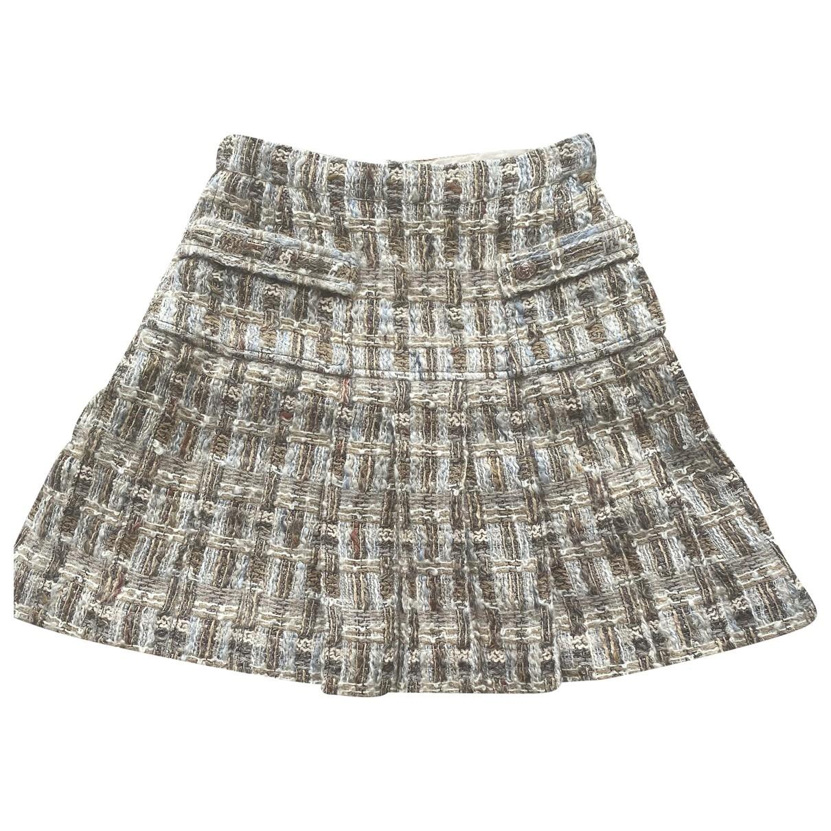 Chanel \N Multicolour Wool skirt for Women 36 FR