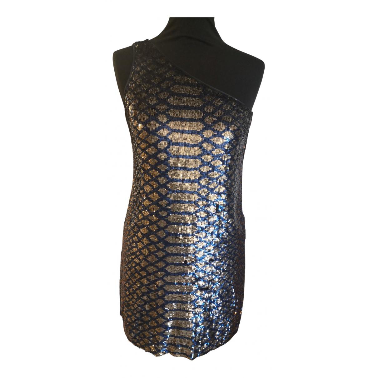 Pinko \N Kleid in  Blau Mit Pailletten