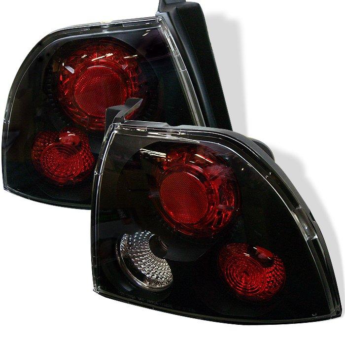 Spyder Altezza Black Tail Lights Honda Accord 94-95