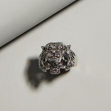 Men Tiger Design Ring