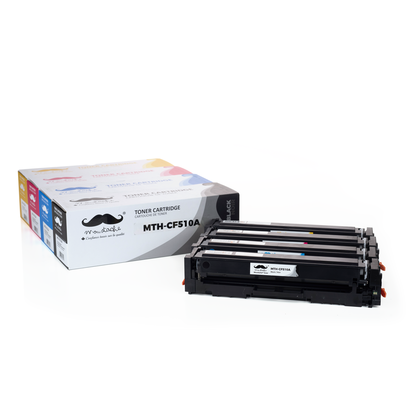Compatible HP 204A CF510A CF511A CF512A CF513A cartouche de toner combo BK/C/M/Y