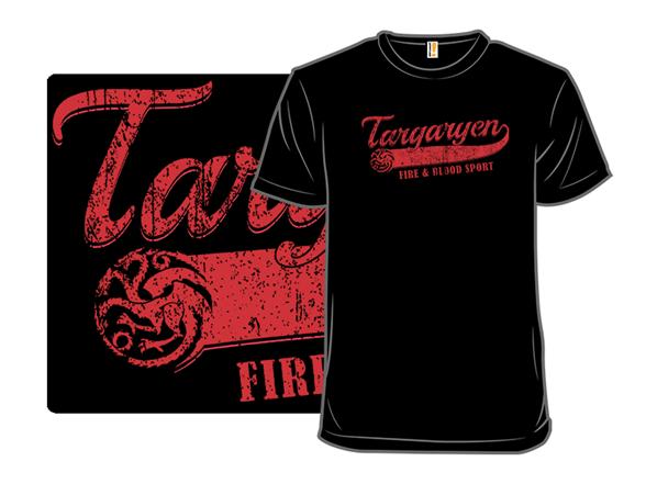 Fire & Blood Sport T Shirt