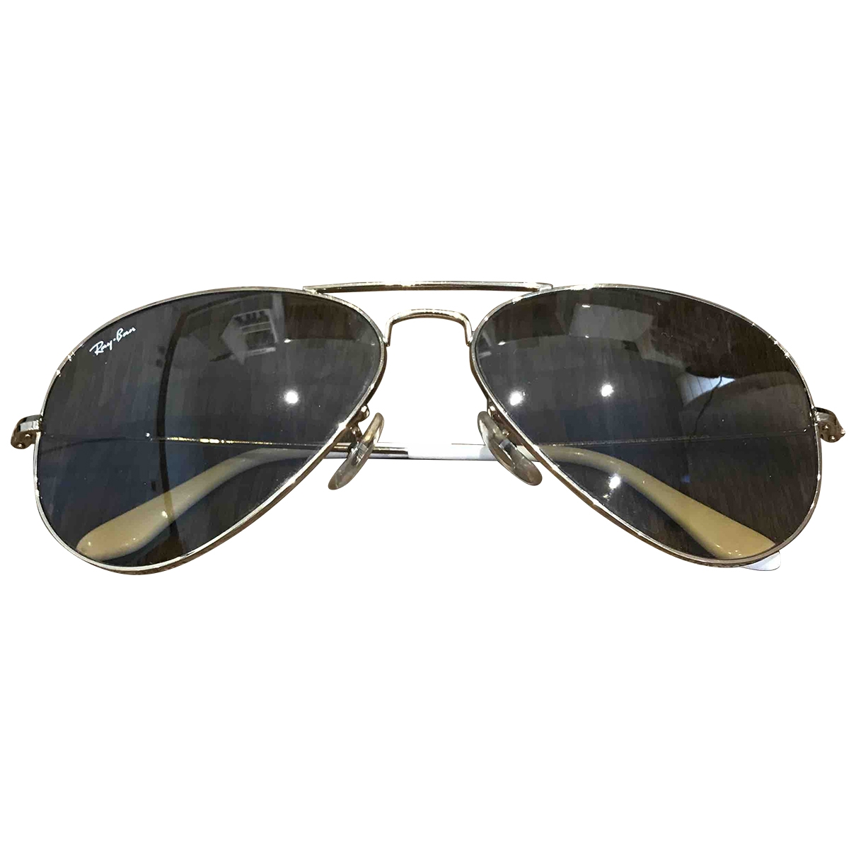 Ray-ban General Brown Metal Sunglasses for Women \N