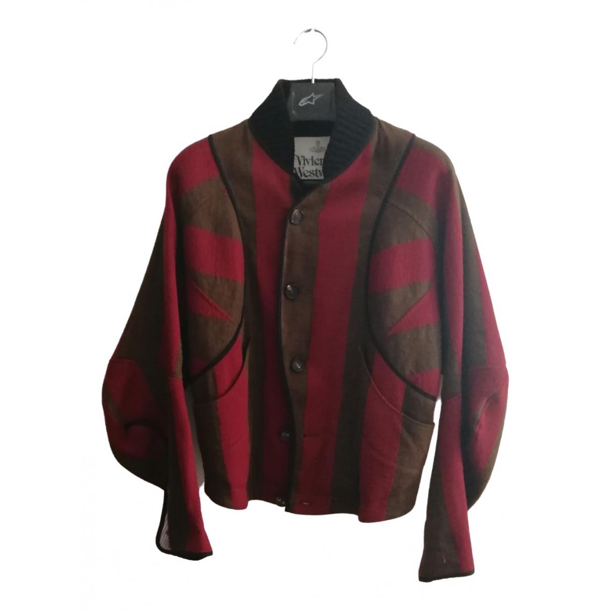 Vivienne Westwood N Red Wool jacket  for Men 48 IT