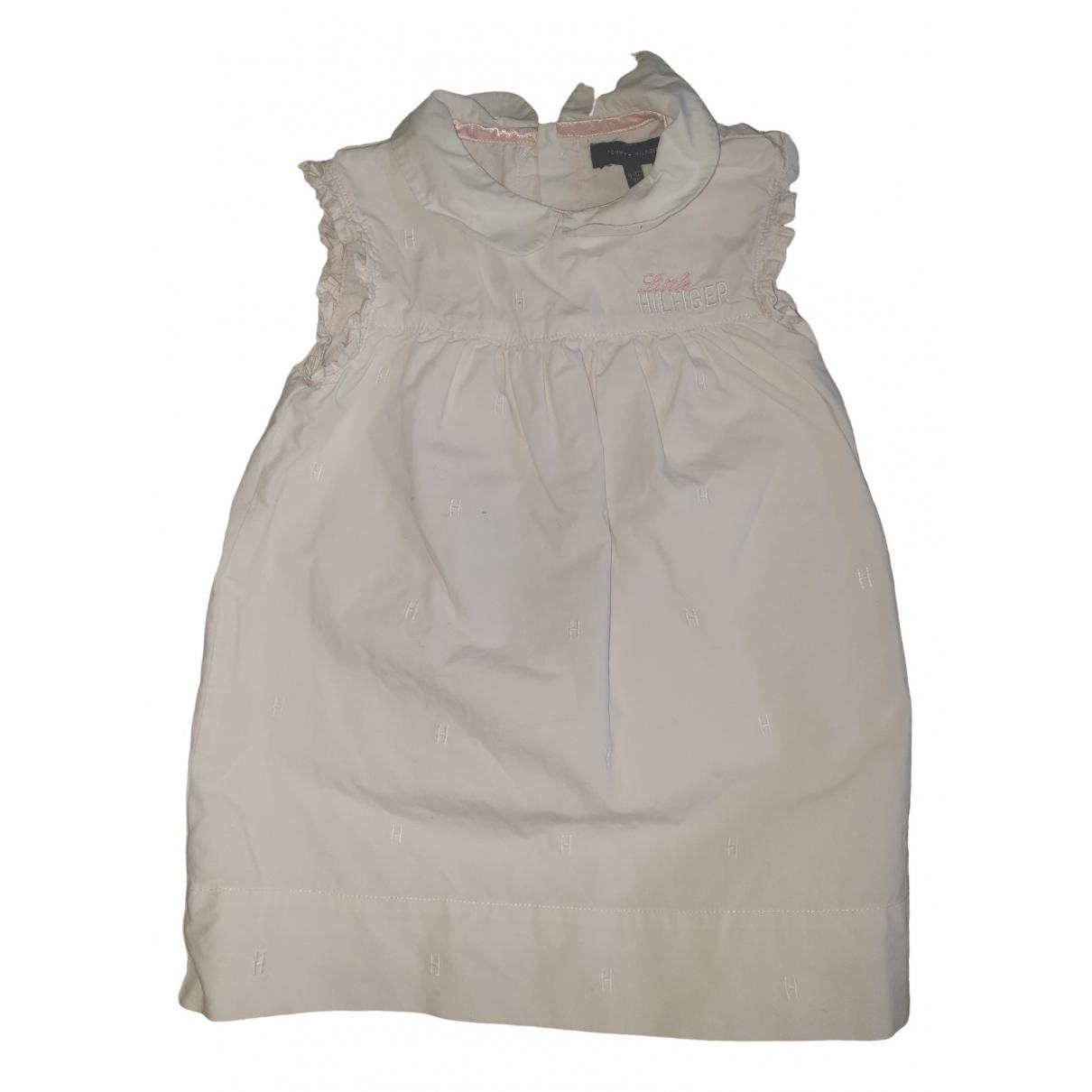 Tommy Hilfiger \N Kleid in  Rosa Baumwolle