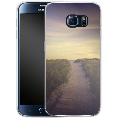 Samsung Galaxy S6 Silikon Handyhuelle - The Summer I Loved You von Joy StClaire