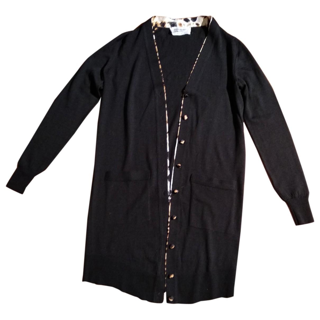 Yves Saint Laurent \N Pullover in  Schwarz Wolle