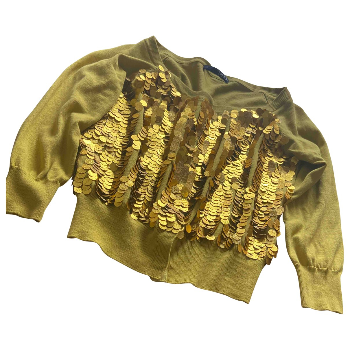 Liu.jo \N Yellow Cotton Knitwear for Women 36 FR