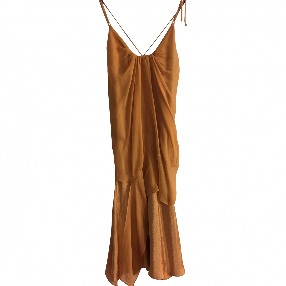 Vanessa Bruno \N Silk dress for Women 38 FR