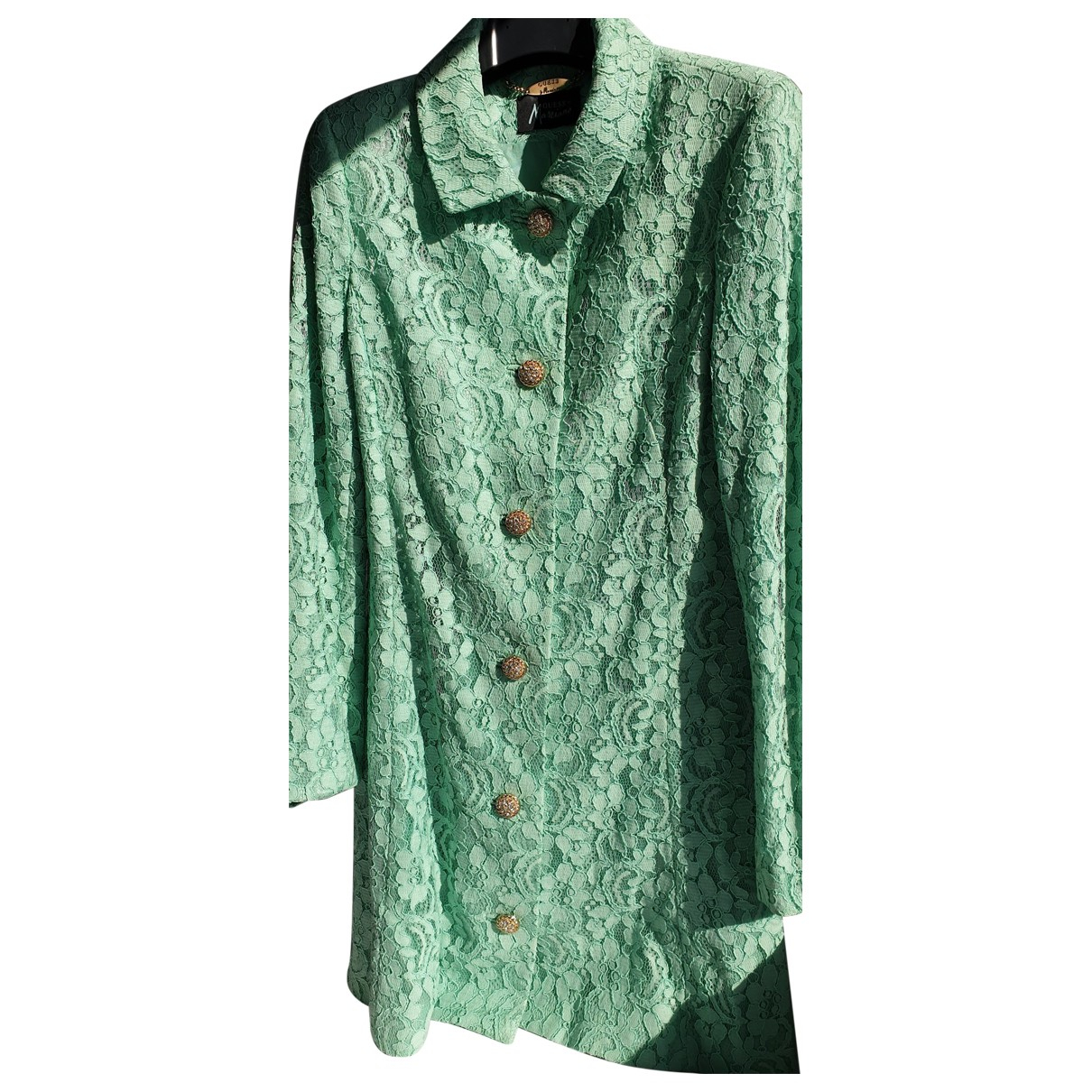 Guess N Turquoise coat for Women 44 IT
