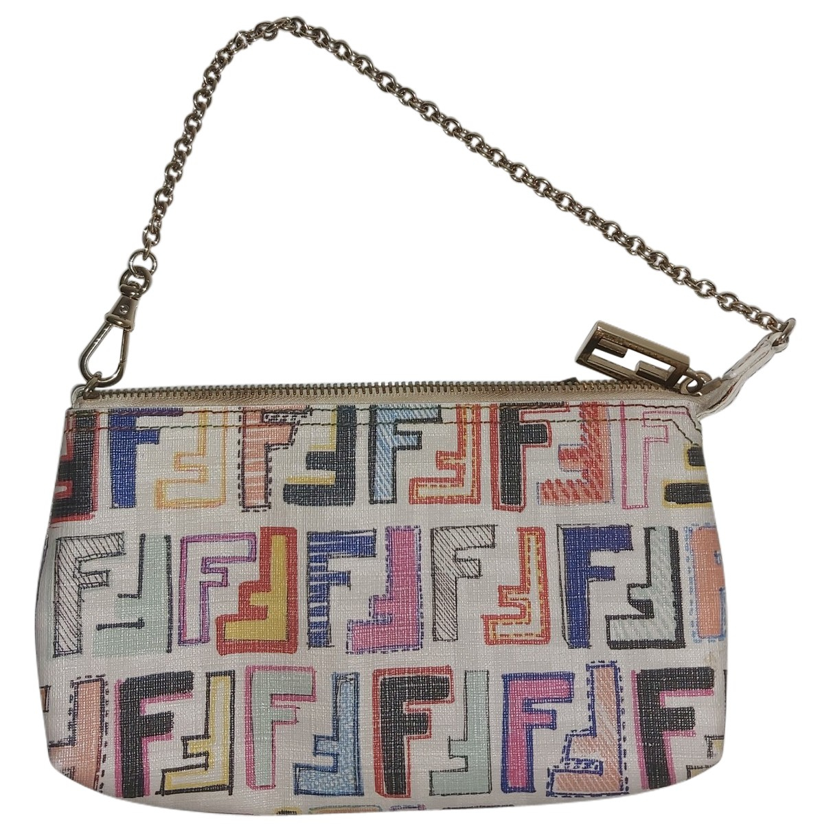 Fendi FF Multicolour Leather handbag for Women \N