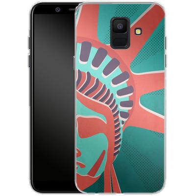 Samsung Galaxy A6 Silikon Handyhuelle - Statue Of Liberty von Mark Ashkenazi