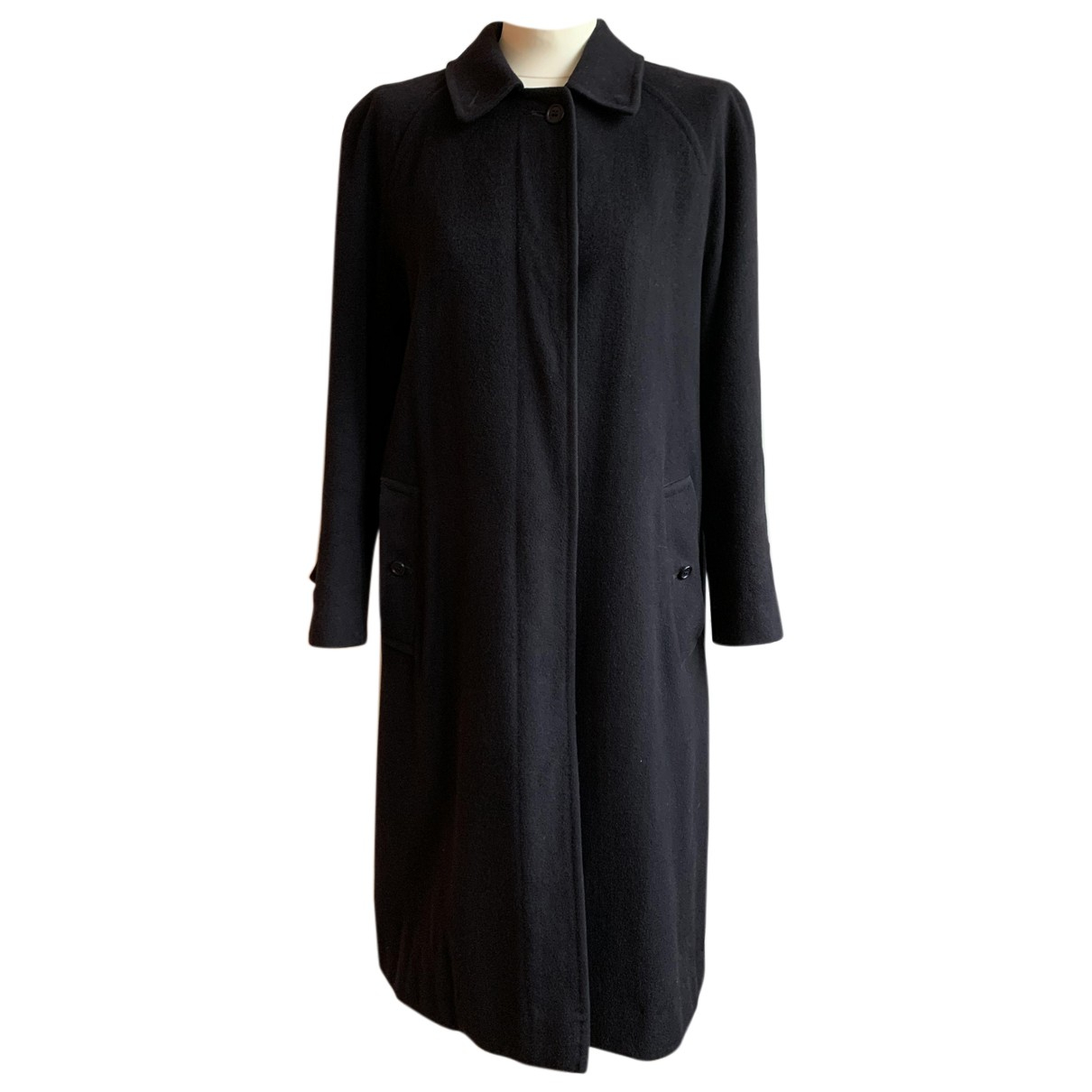 Burberry N Blue Cashmere coat for Women 40 FR